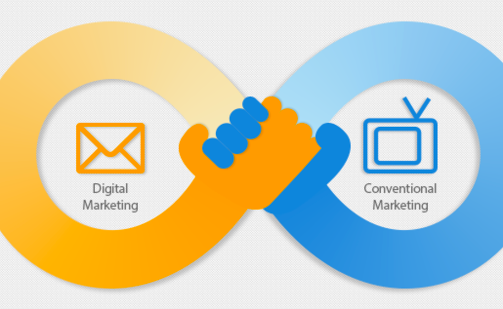 Integrate Traditional & Digital Marketing
