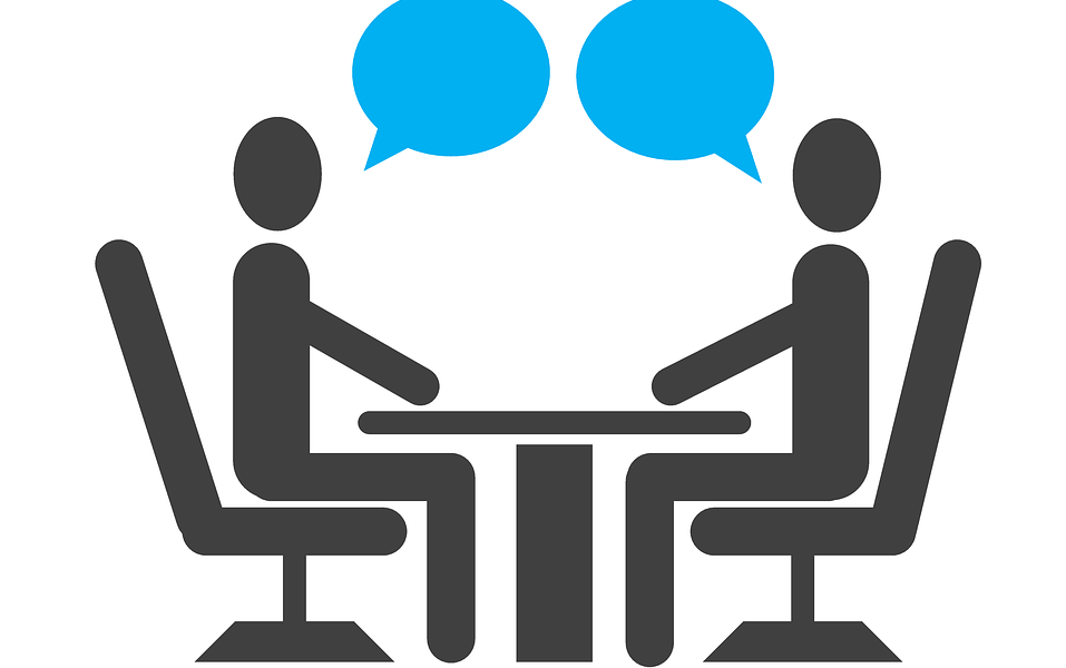 Image of an interview